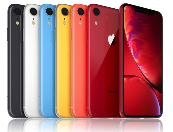 Apple's iPhone XR lineup
