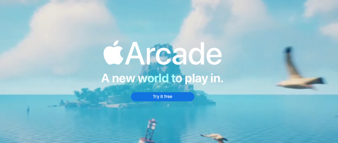 Apple Arcade is the company's latest service -- for now.
