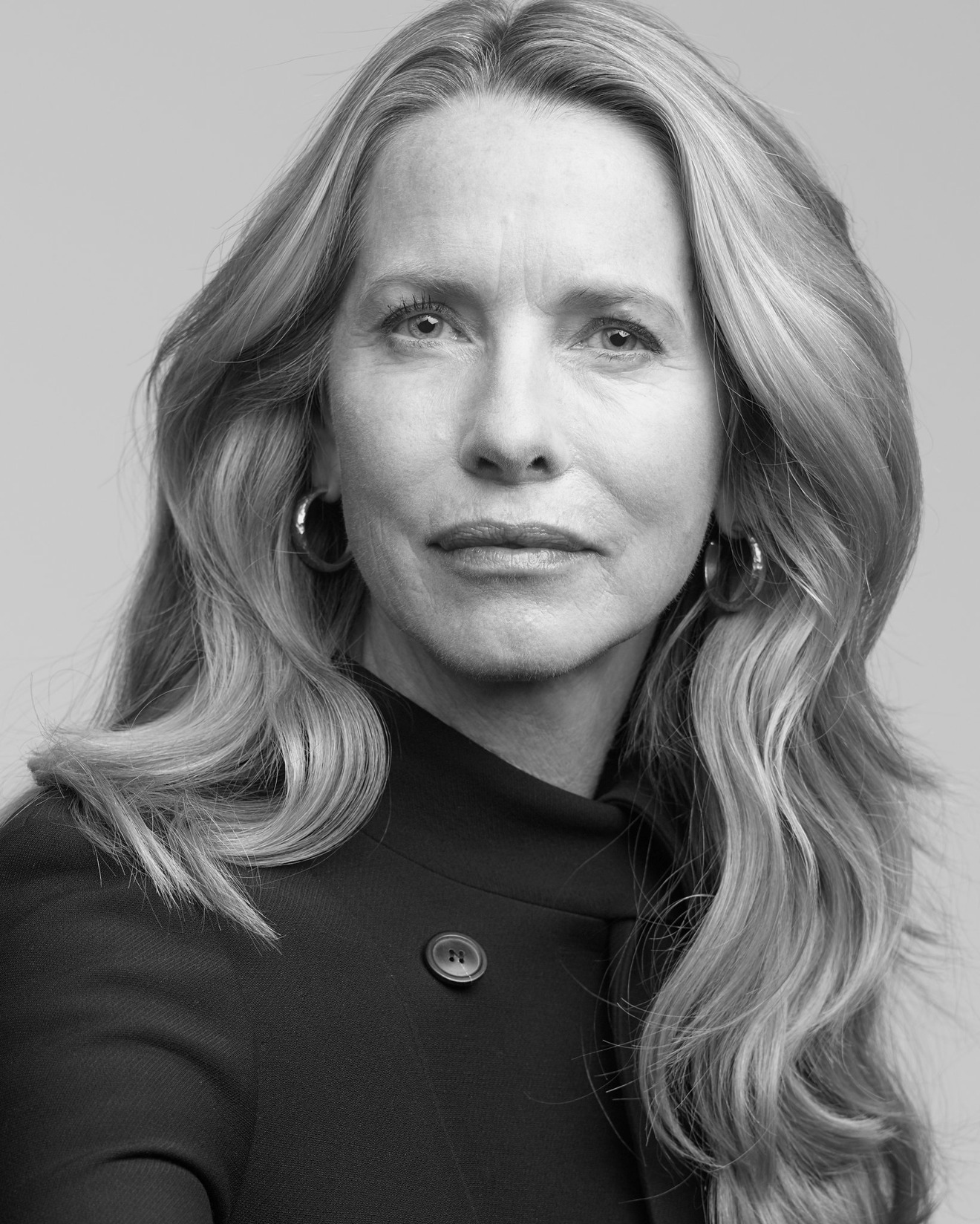 Laurene Powell Jobs, widow to Steve Jobs (photo credit: New York Times)