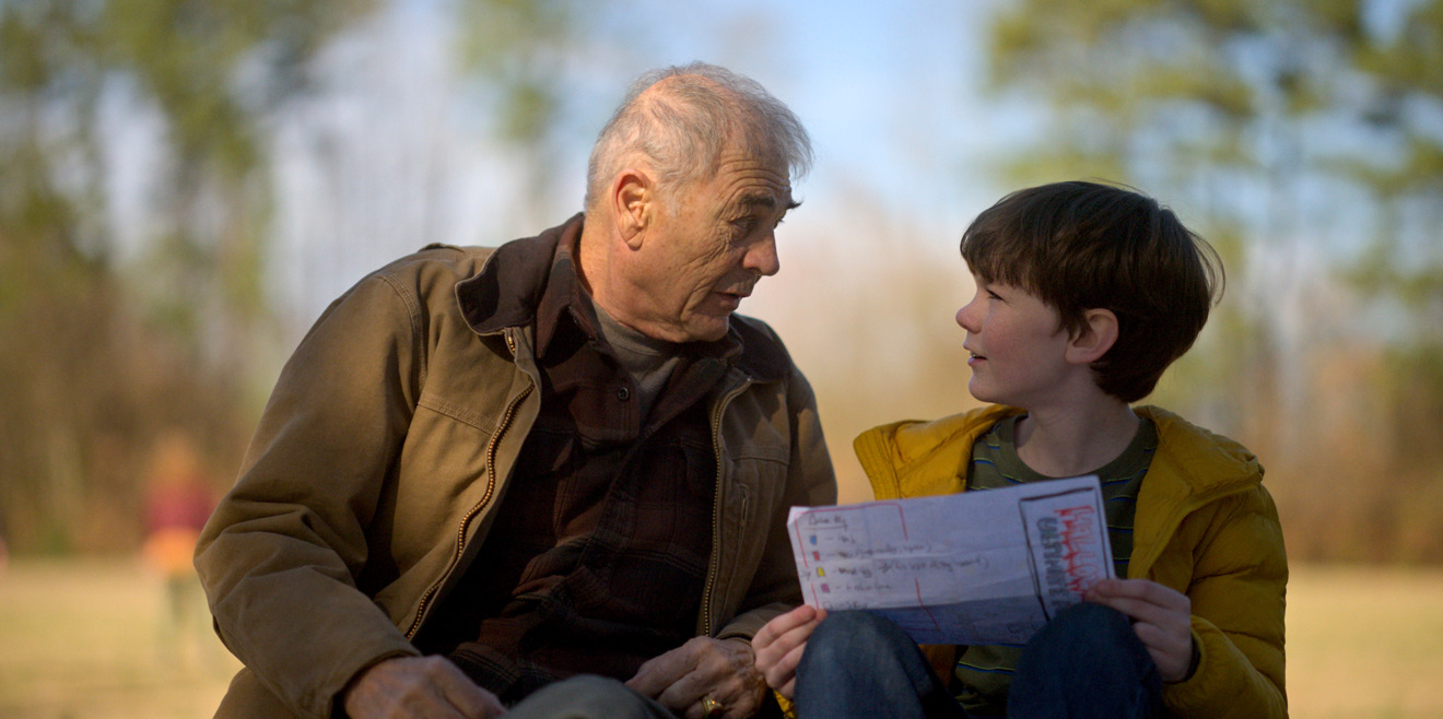 Robert Forster and Tyler Crumley in Amazing Stories (Apple)