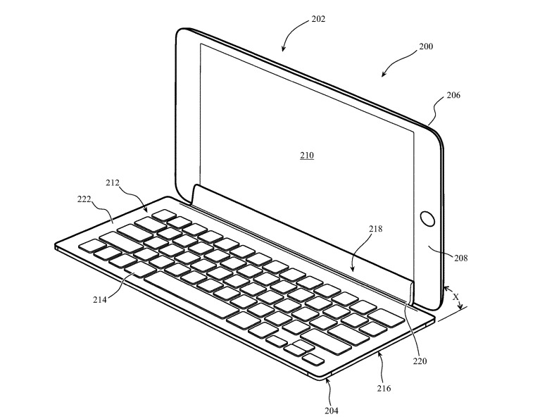 An example design for the proposed keyboard accessory
