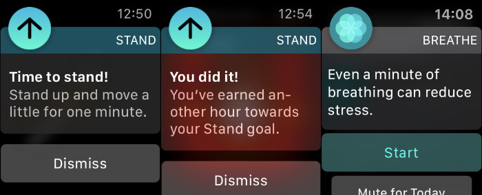 Listen to your Apple Watch.
