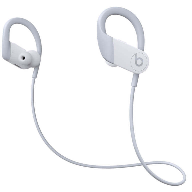 A new cabling design means the wire connecting the two earbuds attaches on the ear hook.