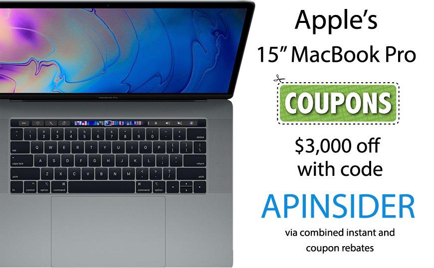 Apple 15 inch MacBook Pro deal