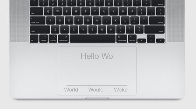 Apple May Add Screens to MacBook Pro Trackpads and Keyboards
