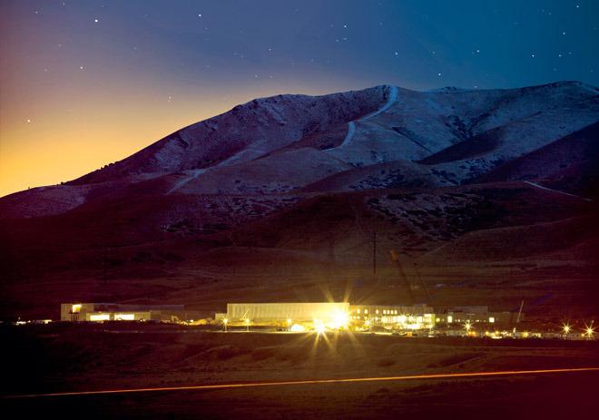 An NSA data center in Utah