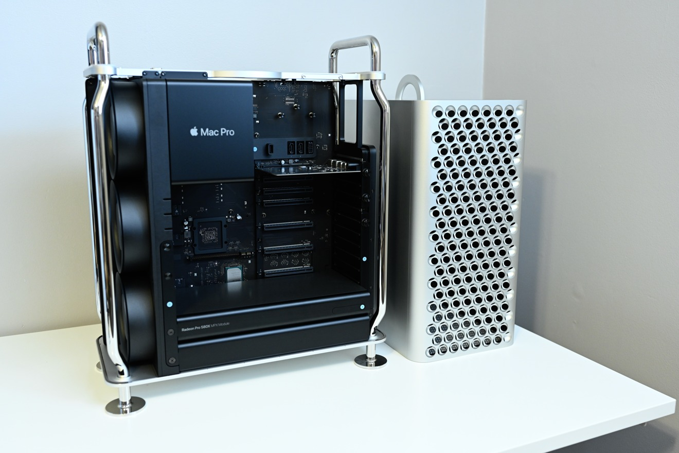 The 2019 Mac Pro has many customization options