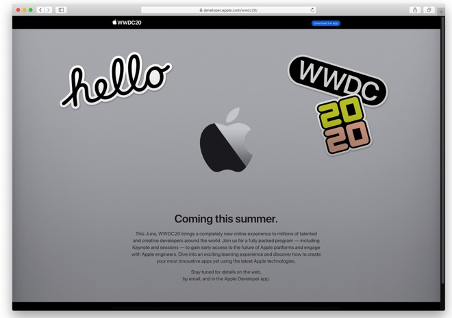 Apple Is Moving WWDC Online for 2020