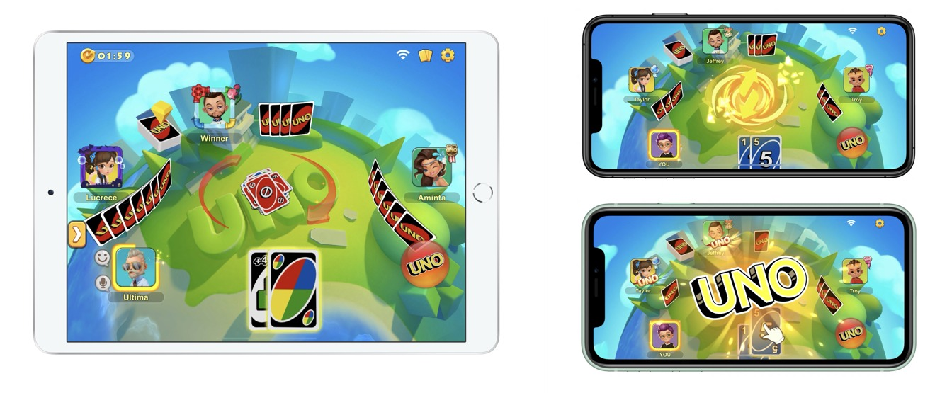 UNO plays great on any device