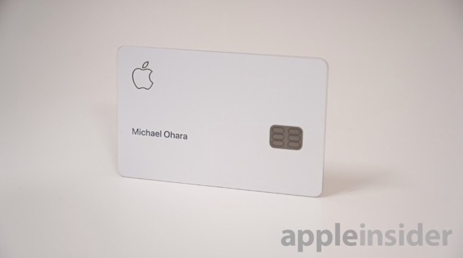 Apple Card issued by Goldman Sachs