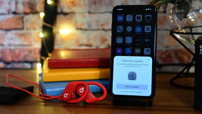 Trying to pair the Powerbeats 4 on iOS 13.4