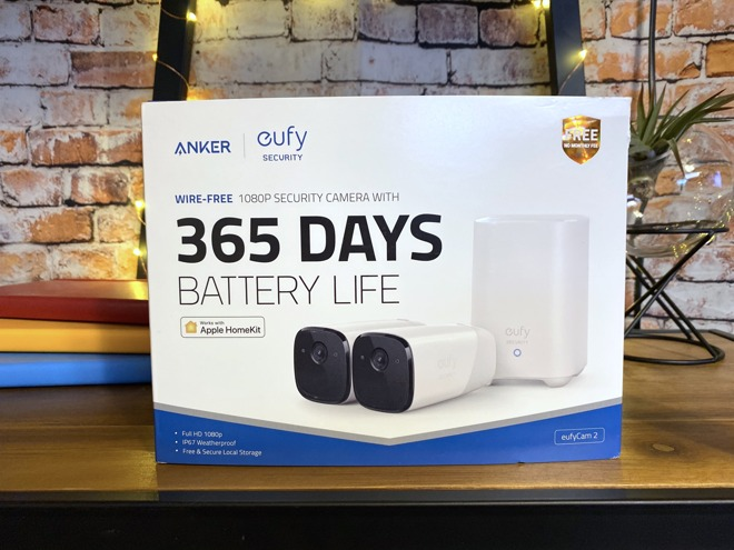Anker's eufyCam 2 now supports HomeKit Secure Video
