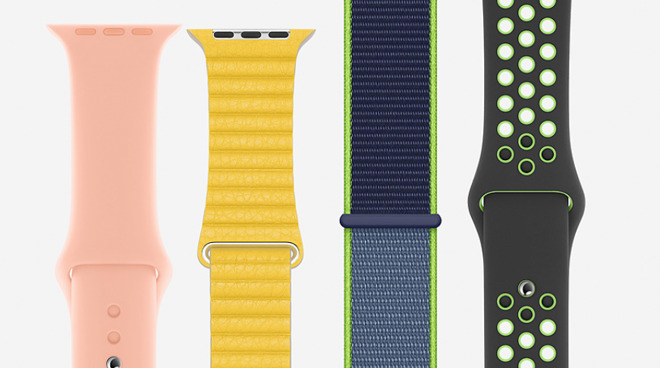 A sampling of what Apple's spring refresh has brought to the Apple Watch band lineup