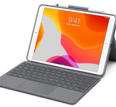 Logitech debuts trackpad keyboard cases for 10.2-inch iPad, iPad Air