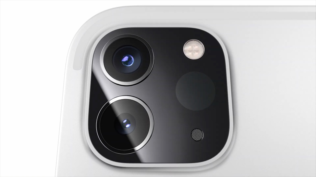 iPad Pro's updated camera module