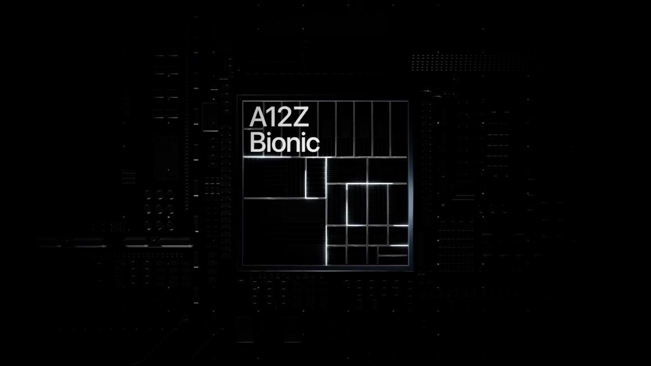 iPad Pro A12Z Bionic processor