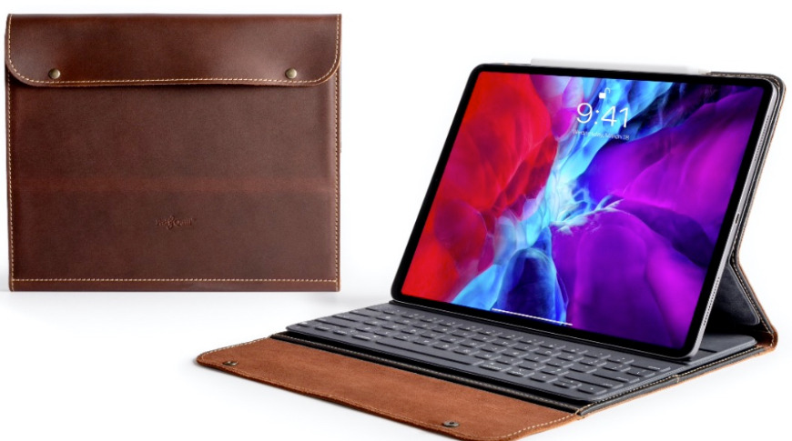 Pad and Quill iPad Pro case called Cafe Pro