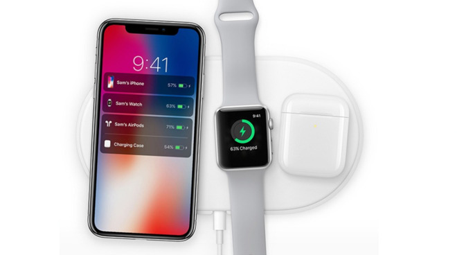 The original and never released AirPower wireless charging mat