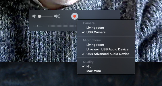 Every Mac has QuickTime Player which, despite the name, is a recorder too.