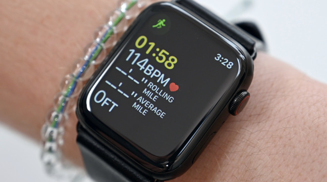 Participants were required to wear Apple Watch for at least five hours per day over an extended period