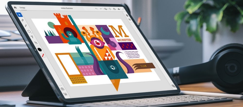 photo of Adobe privately inviting users to beta test Illustrator for iPad image