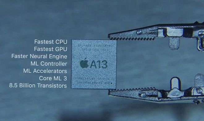 Apple's A13 chipset is one of the most powerful ARM-based mobile processors on the market.