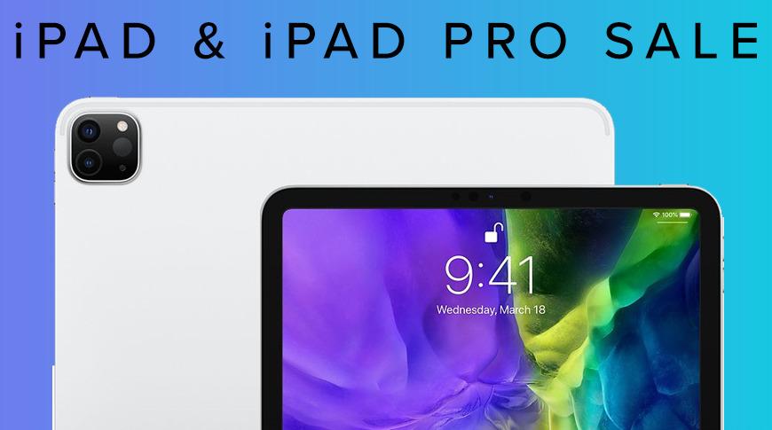 Apple iPad and iPad Pro deals
