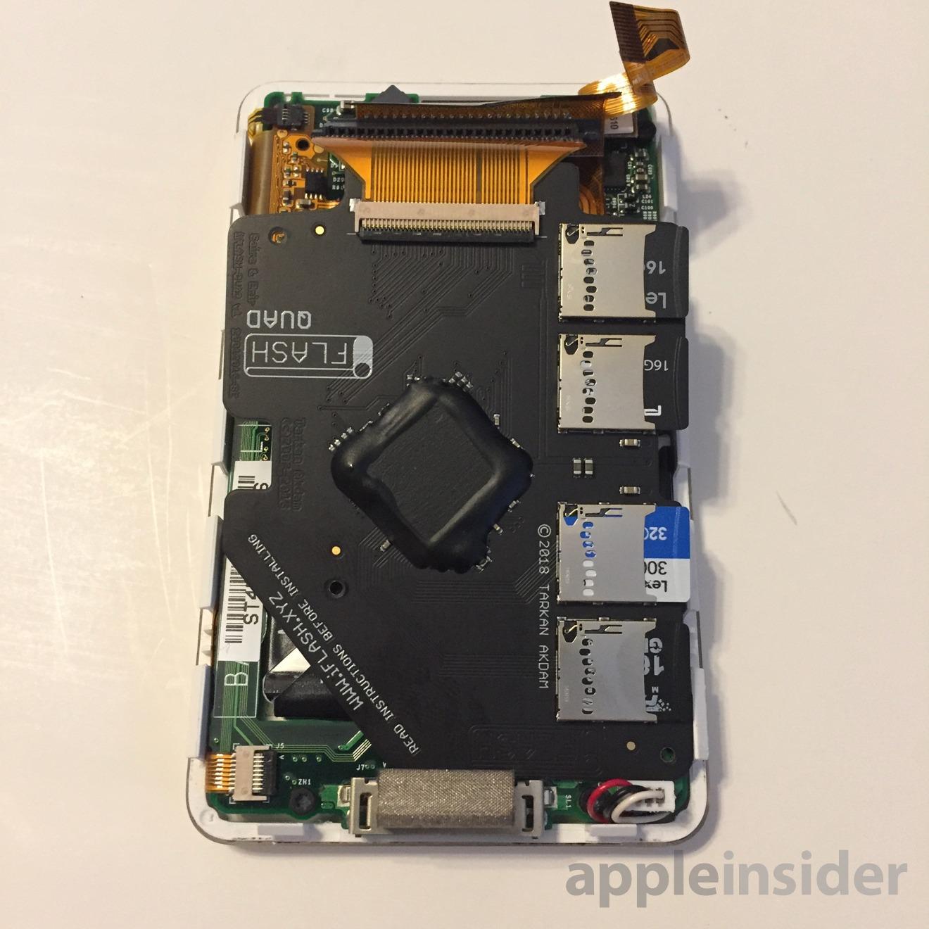 Internal hardware of Apple iPod Classic
