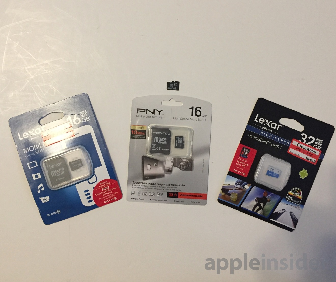 SD card options for iPod upgrade