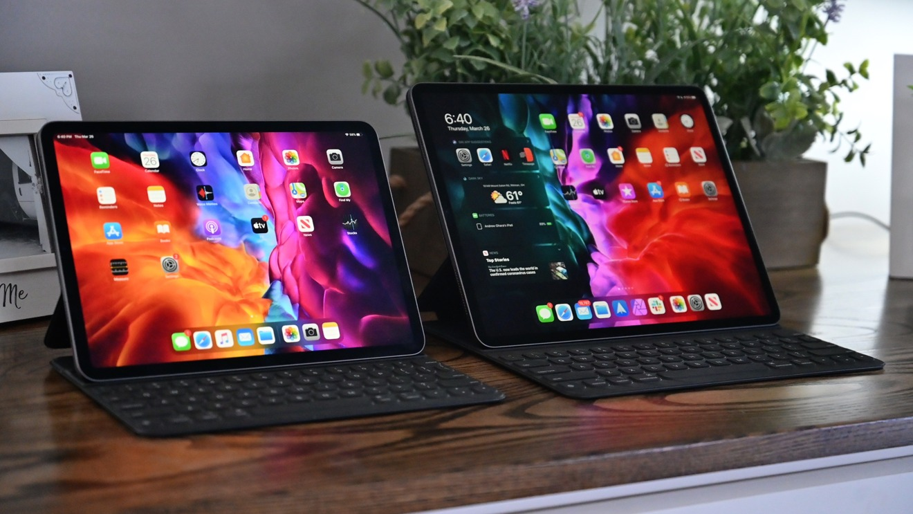 11-inch and 12.9-inch iPad Pros