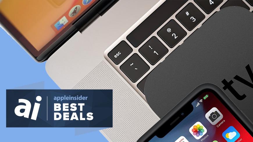 Today S Best Apple Deals 679 Macbook Pro 60 Off Iphone Battery Case Apple Tv 4k Sale