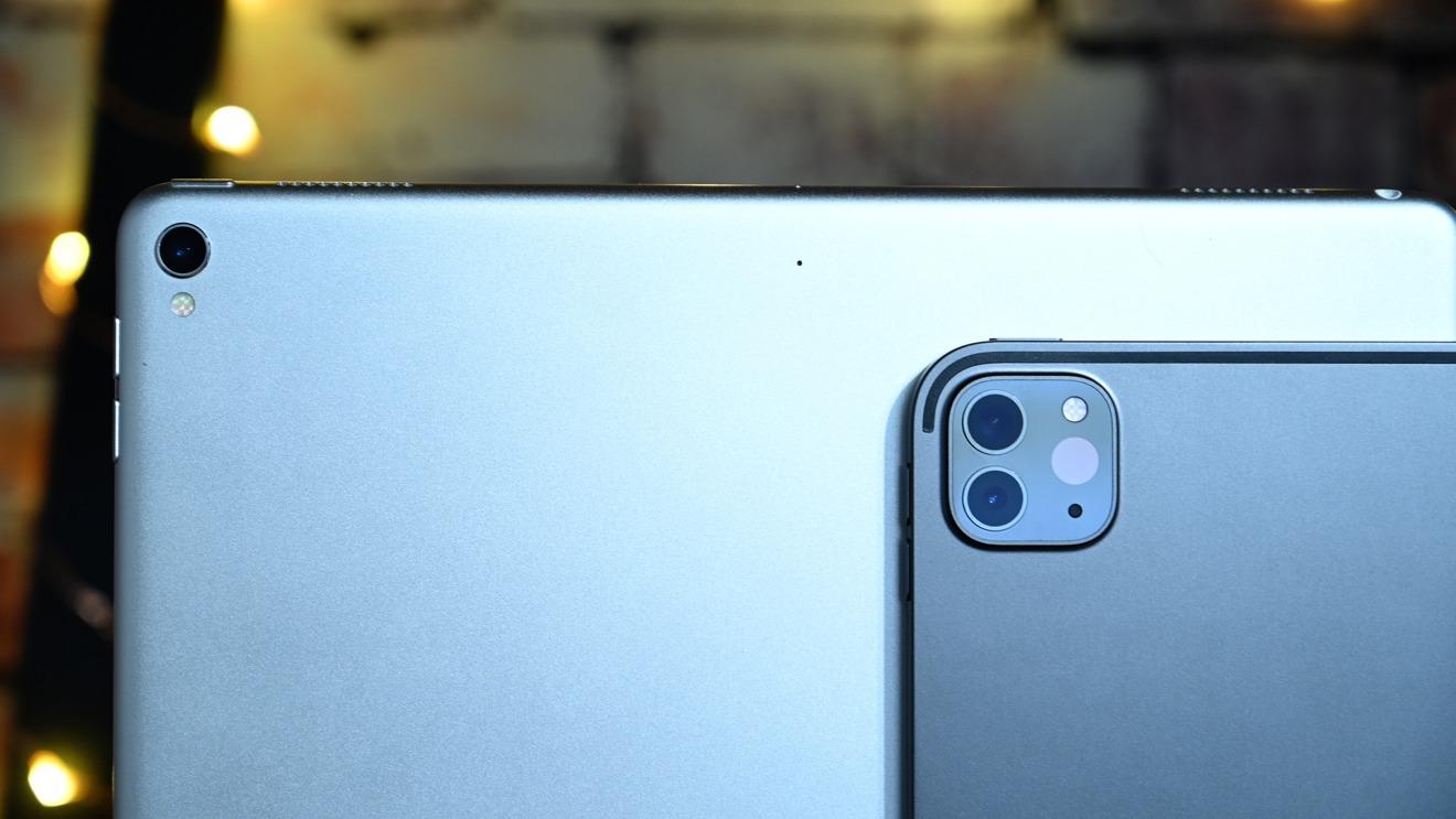 iPad Pro cameras
