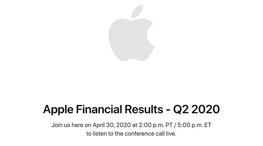 Apple to reveal fiscal Q2 earnings on April 30 | AppleInsider