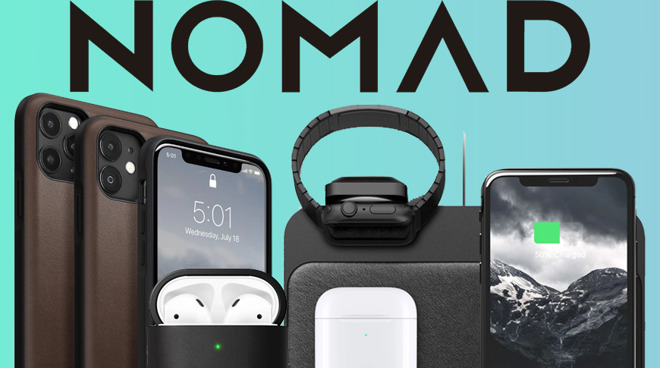 photo of Nomad knocks 30% off wireless chargers, cases, cables for Apple products image
