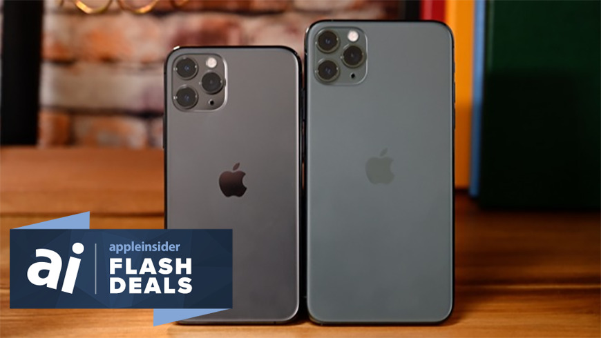 Apple iPhone 11 flash deals are going on now at Woot