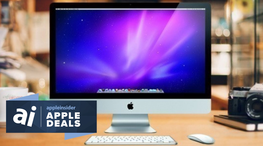 Deals on Apple iPads and Mac computers are going on today