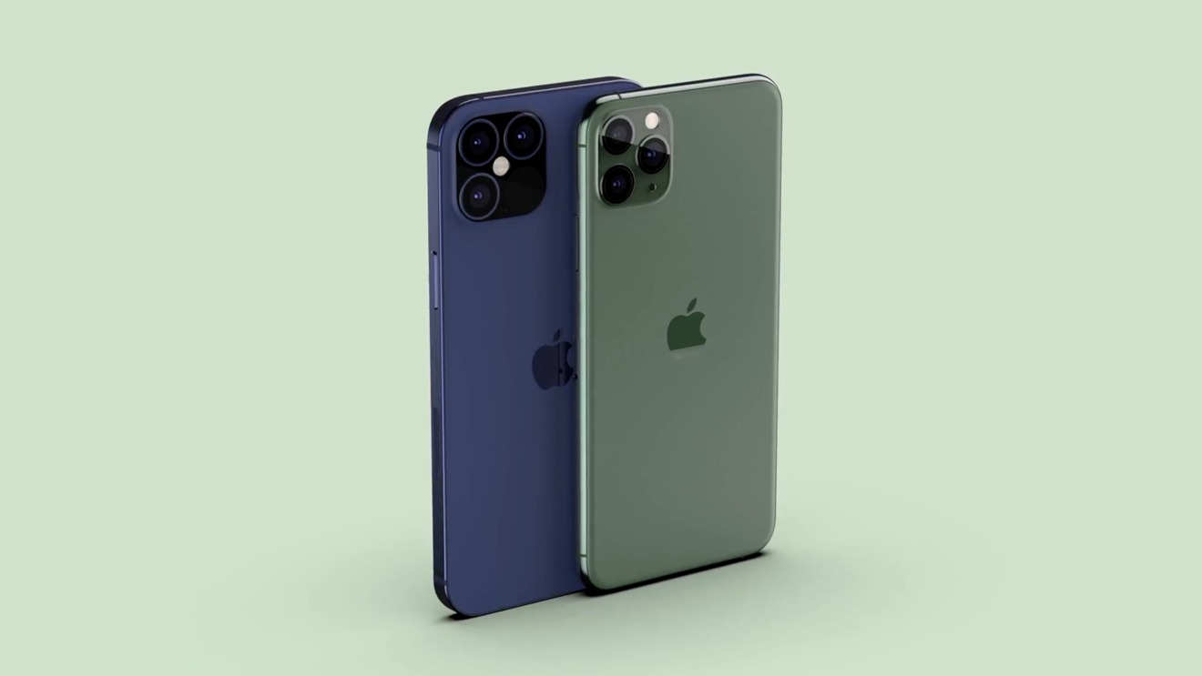 Midnight blue may replace midnight green (render from EverythingApplePro)