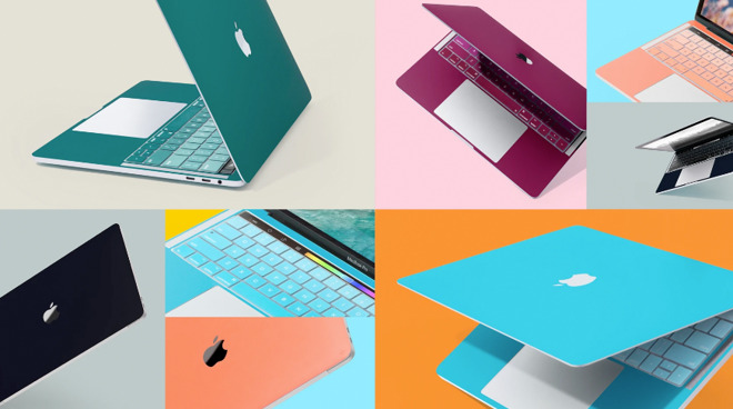 Twelve South's new ColorKit skins give your MacBook a pop of color