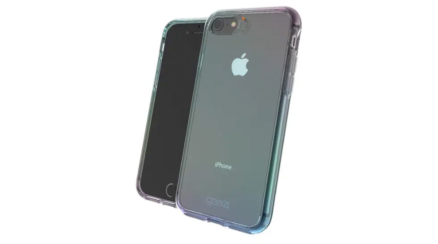 Crystal Palace iPhone SE 2 case with antimicrobial surface