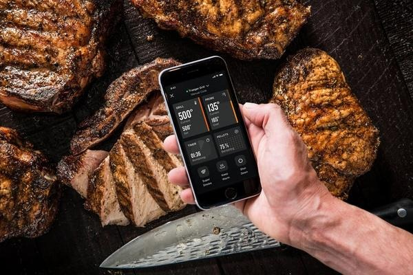 The Traeger app can control WiFIRE-connected grills