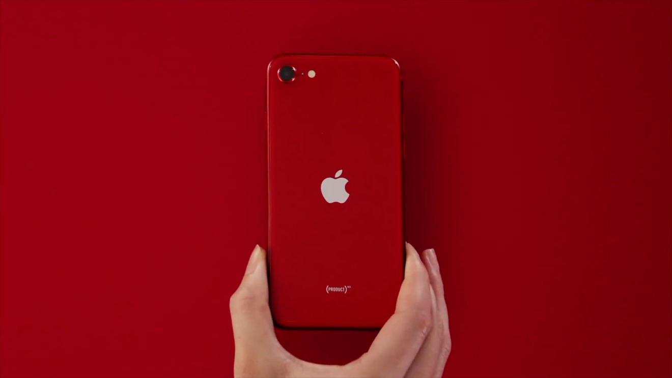 The new iPhone SE comes in Product(RED)
