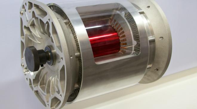 Tesla motor windings