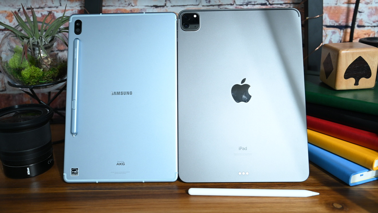 iPad Pro (2020) and Galaxy Tab S6
