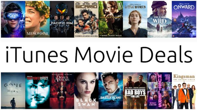 Promociones de fin de semana en películas de iTunes