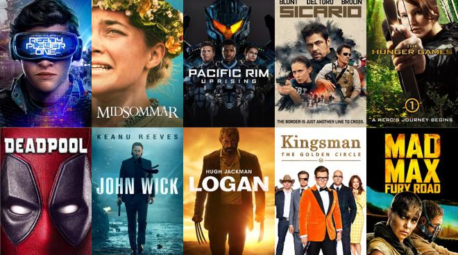 Descuentos visualmente impresionantes de películas 4K