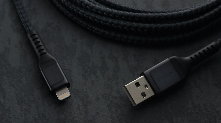 Braided Nomad Lightning Cable for Apple products