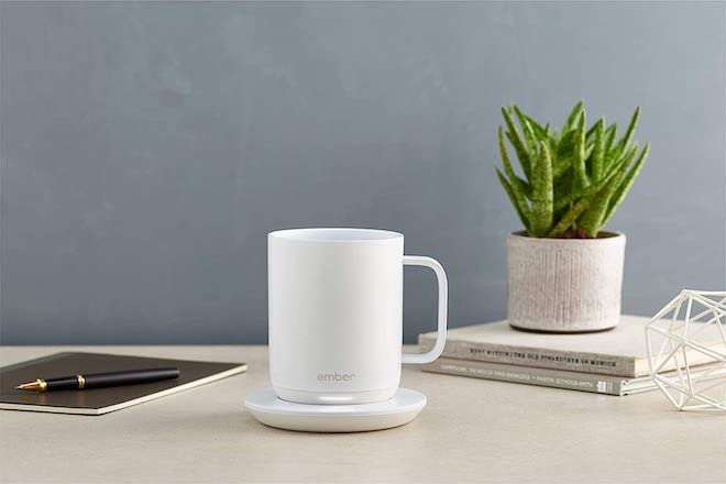 The Ember is a smart mug that can keep your beverages hot indefinitely when placed on its coaster.