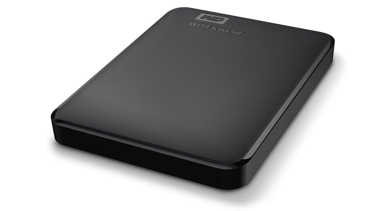 WD Elements 2TB Portable External Hard Drive