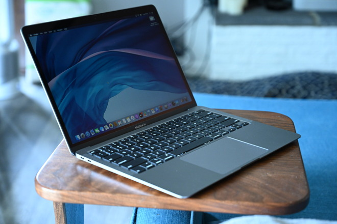 A MacBook or a MacBook Air as shown here is likely going to be the first ARM Mac