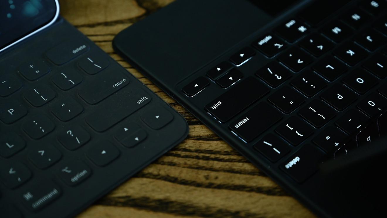 Magic Keyboard arrow keys versus Smart Keyboard Folio